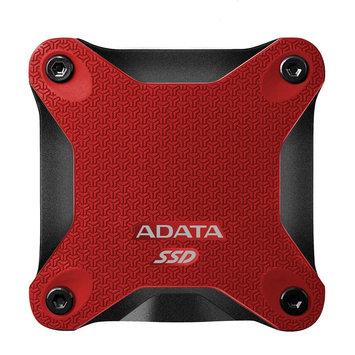 Adata Techology ADATA Durable SD600 3D NAND Flash USB 3.1 External SSD 256GB Red