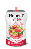 Honest Kids® Super Fruit Punch Organic Juice Drink 6.75 fl. oz. Pouch