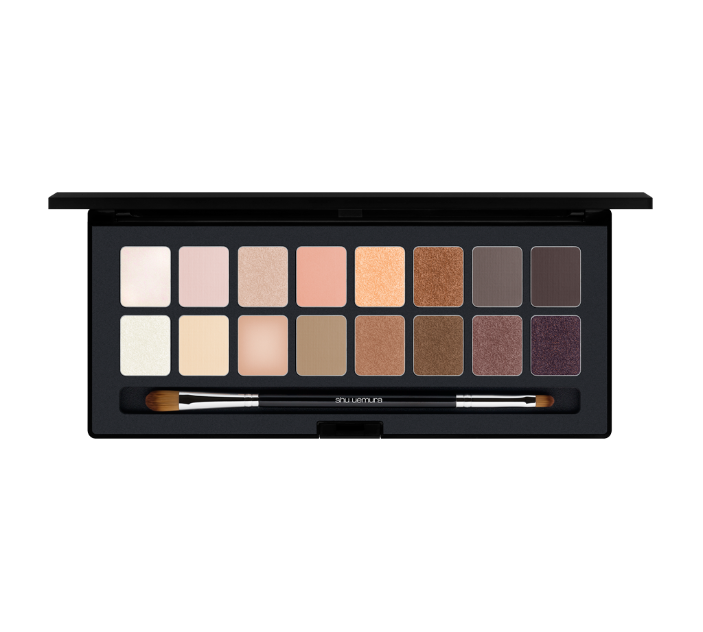 shu:palette blushing beige Shu Uemura