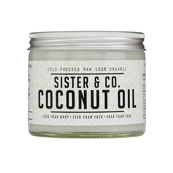 Sister & Co. Cold Pressed Raw 100% Organic Coconut Oil - Cold Pressed Raw 100% Organic Coconut Oil