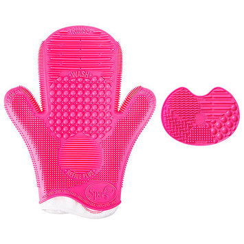 Sigma Beauty 2x Sigma Spa Brush Cleaning Glove & Deluxe Spa Glove Duo