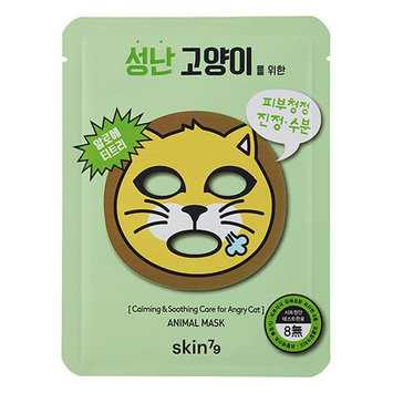 Skin79 Calming And Soothing Care For Angry Cat Animal Mask