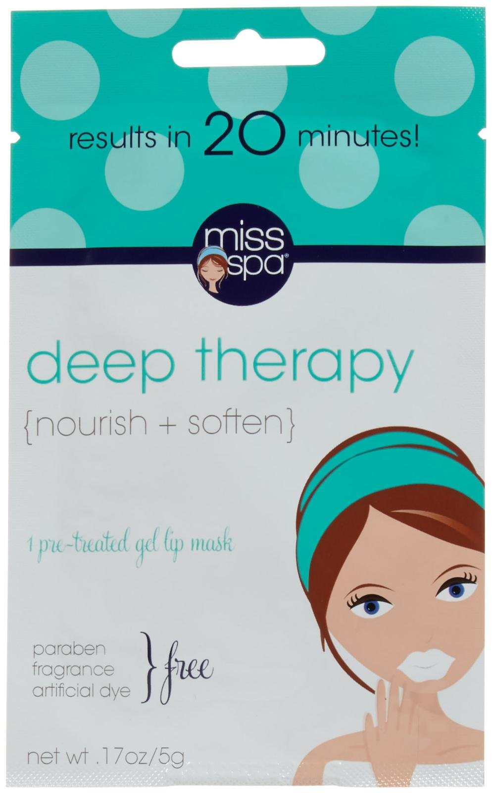 Miss Spa Deep Therapy Gel Lip Mask