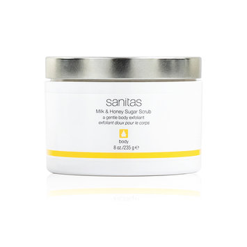 sanitas Milk & Honey Sugar Scrub (8 fl oz / 236 ml)
