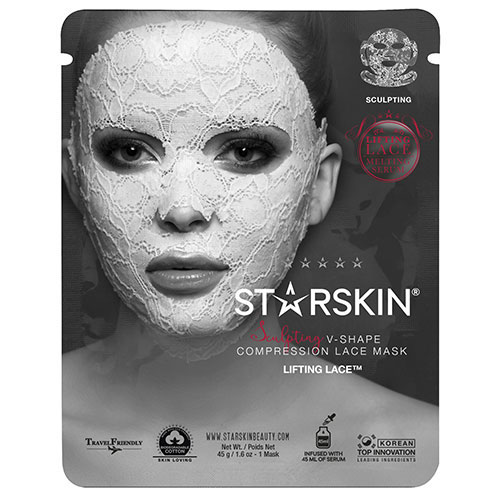 STARSKIN Lifting Lace Sculpting V-Shape Compression Lace Mask