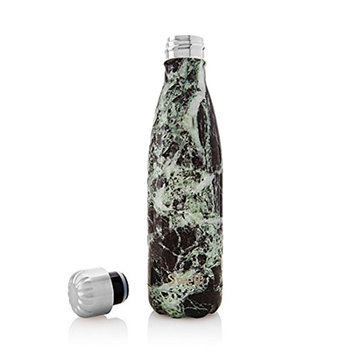 Swell S'well 17oz Stainless Steel Water Bottle: Baltic Green Marble