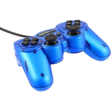 Sabrent Twelve-Button USB 2.0 Game Controller For PC - Cable - USB - PC, Mac - 6.5 Cable