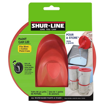 Shur-Line Pour and Store Paint Lid (Red, 6-1/4in L). Model: 1783844