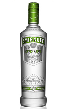 Smirnoff Green Apple Flavored Vodka