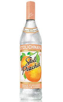Stoli Peachik Vodka