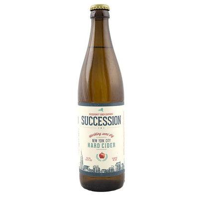 Descendant Cider Company Succession Cider