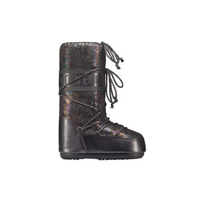 Tecnica - Moon Boot Shiny Brush (Black) Cold Weather Boots