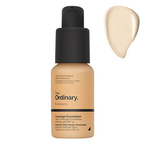 The Ordinary Coverage Foundation SPF 15 - Very Fair 1.0P