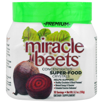 Basic Research Concentrated Super Food Crystals Miracle Beets 30 Servings 5.3 oz. (150g)