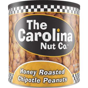 The Carolina Nut 11070 12 oz Honey Roasted Chipotle Peanuts