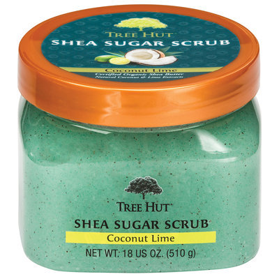 Tree Hut Coconut Lime Shea Sugar Body Scrub