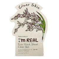 TONYMOLY I'm Real Rice Mask Sheet Clear Skin