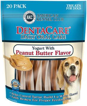 Cherrybrook AKC DentaCare Sticks - Peanut Butter and Yogurt Flavor 20 pack