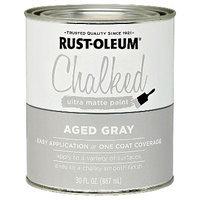 RustOleum 285143 Qt Ant Gry Chalkd Paint