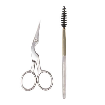 Tweezerman Brow Shaping Scissors With Brush