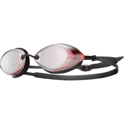 Tyr Tracer Racing Metallized Swim Goggles Red/Silver Metallized