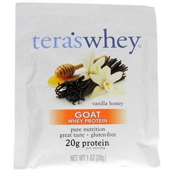 Teras Whey Protein Powder - Whey Protein - Goat - Vanilla Honey - 1 oz - Case of 12 Protein Powders