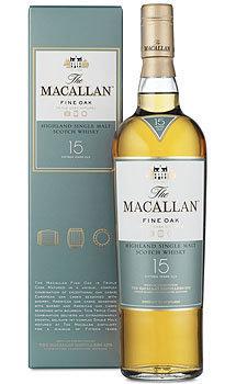The Macallan 15 Year Old Single Malt Fine Oak