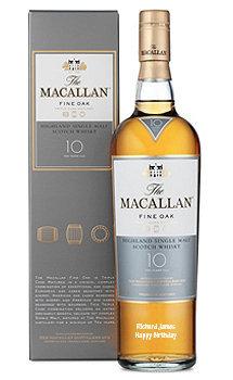 The Macallan 10 Year Old Single Malt Fine Oak