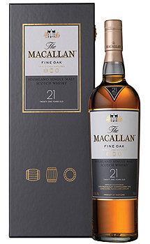 The Macallan 21 Year Old Single Malt