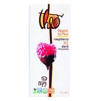 Theo Chocolate Organic 70% Dark Chocolate Bar Raspberry 3 oz - Vegan