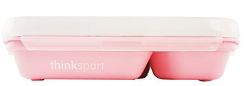 thinkbaby GO2 Container with Fork and Spoon (Pink)