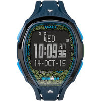 Timex Ironman Sleek 150 Unisex Watch - Blue/Lime Ironman Sleek 150 Unisex Watch