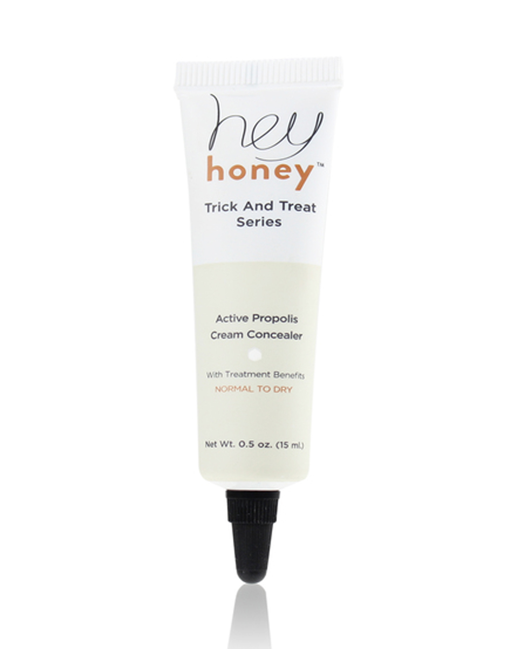Hey Honey Trick And Treat Series Active Propolis Cream Concealer, .5 oz