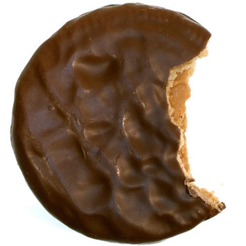 Tumbador Chocolate Chocolate-Covered Peanut Butter Cookies
