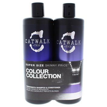 Tigi/tigi Catwalk Fashionista Violet Duo by TIGI for Unisex - 25.36 oz Shampoo and Conditioner
