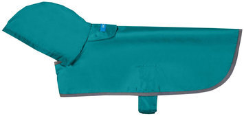 Rc Pet Products Usa RC Pet Packable Rain Poncho LG AQUA
