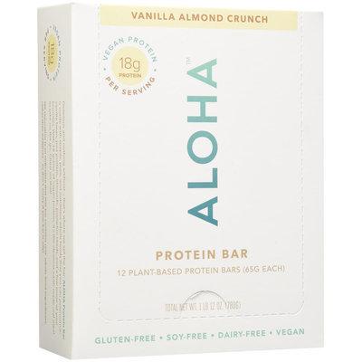 Aloha Protein Bar - Vanilla Almond Crunch - 2.2 oz - 12 ct