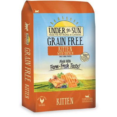 Under The Sun Grain Free Kitten Food Made With Farm-Raised Chicken, 2.5 lbs.