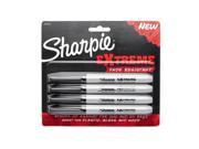 Sharpie 4-Pack Black Permanent Marker 1927436