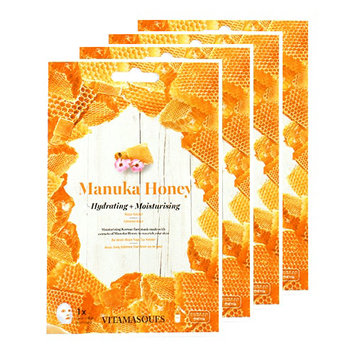 VITAMASQUES Manuka Honey Hydrating and Moisturising Face Mask Set