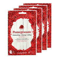 VITAMASQUES Pomegranate Moisturising; Firming and Lifting Face Mask Set