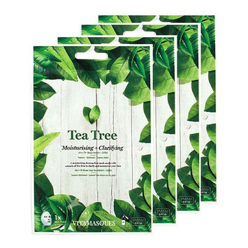 VITAMASQUES Tea Tree Moisturising and Clarifying Face Mask Set