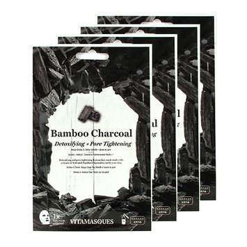 VITAMASQUES Bamboo Charcoal Detoxifying and Pore Tightening Face Mask Set