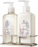 Thymes Sink Set with Caddy, Lavender