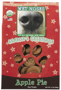 Wet Noses Organic Holiday Dog Treats Apple Pie
