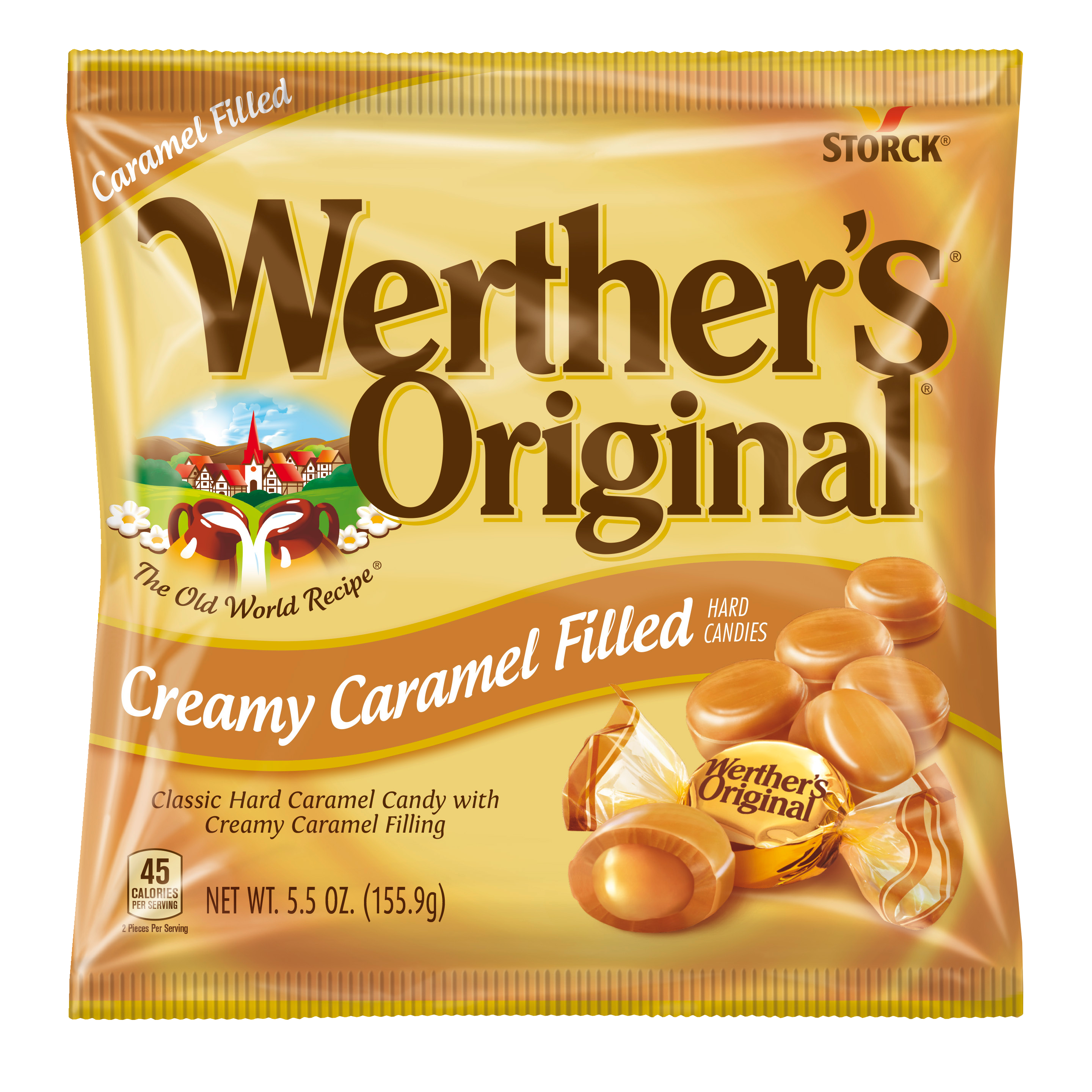 Werther's® Original®  Creamy Caramel Filled Hard Candies