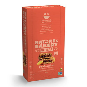 Nature's Bakery Fig Bar Whole Wheat Peach Apricot - 12 CT