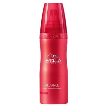 Wella Brilliance 6.7-ounce Leave In Mousse for Color-treated Hair