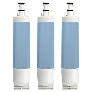 Electrolux Aqua Fresh Replacement Water Filter f/ Whirlpool 6GD5SHGXSS05 / 6GD5SHGXSS07 Refrigerator Models-3pk