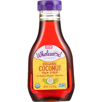 Wholesome Sweeteners Syrup - Organic - Coconut Palm - 12 oz - case of 6 Syrups